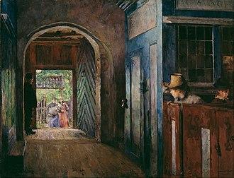 Tanum, Norway - Barnedåp i Tanum kirke (1892) Harriet Backer