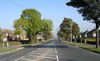 Eccleshill, West Yorkshire - Image: Harrogate Road Eccleshill geograph.org.uk 592253