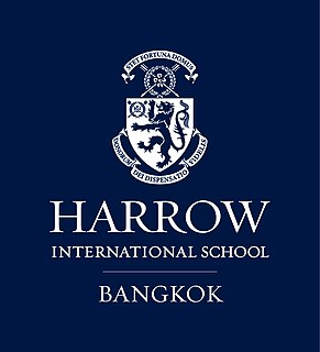 Harrow International School Bangkok International school in Don Mueang District, Bangkok, Thailand