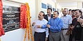 Harsh Vardhan and the Minister of State for Development of North Eastern Region (IC), Prime Minister's Office, Personnel, Public Grievances & Pensions, Atomic Energy and Space, Dr. Jitendra Singh inaugurating the newly built.jpg