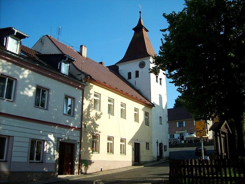 Hartmanice, náměstí
