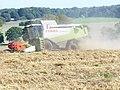 Harvesting by Staple Lane - geograph.org.uk - 975055.jpg