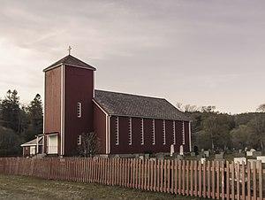 Hasselvika Church - Image: Hasselvik kirke