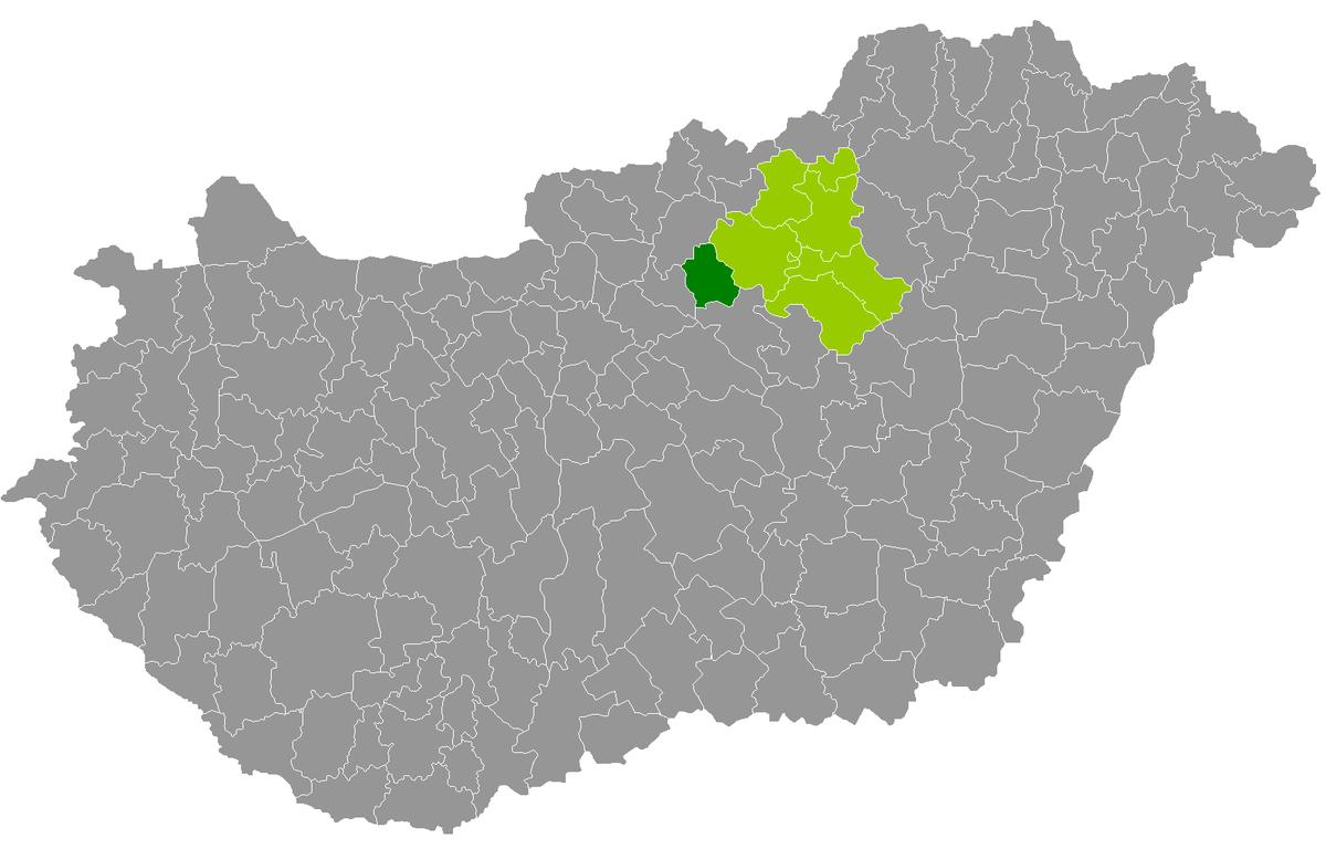 hatvan térkép Hatvan District   Wikipedia hatvan térkép