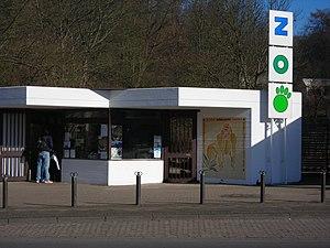 Saarbrücken Zoo - Main Entrance
