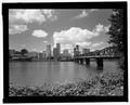 Hawthorne Bridge, Spanning Willamette River at Hawthorne Boulevard and Madison Street, Portland, Multnomah County, OR HAER ORE,26-PORT,10-20.tif
