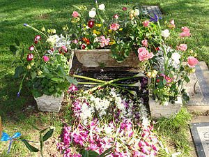 Westwood Village Memorial Park Cemetery - Hayedeh's gravestone