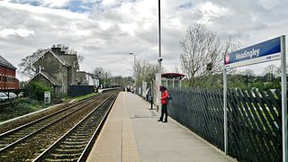 Headingley railway station Railway station in West Yorkshire, England
