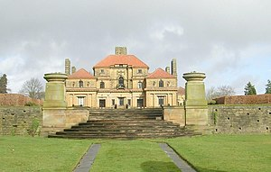 Grade I listed buildings in West Yorkshire - Image: Heathcote viewed from Grove Road geograph.org.uk 1196419