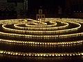 Heilig Kreuz Kerzenlabyrinth 14122013 02.JPG