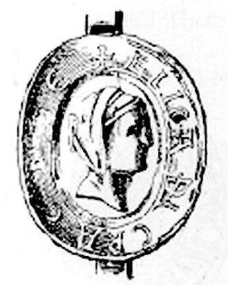 Heilika of Pettendorf-Lengenfeld - Miniature seal of Heilika of Pettendorf-Lengenfeld