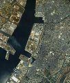 Hekinan city center area Aerial photograph.1987.jpg