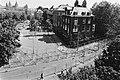Hekken voor bescherming voor het Amerikaanse Consulaat in Amsterdam, Bestanddeelnr 932-1822.jpg