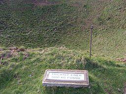 Helgoland Bombentrichter