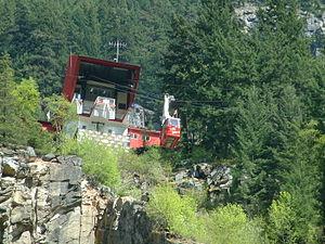 Hells Gate (British Columbia) - The airtram
