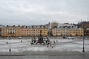 Helsinki Senate Square - Helsinki Senate Square.