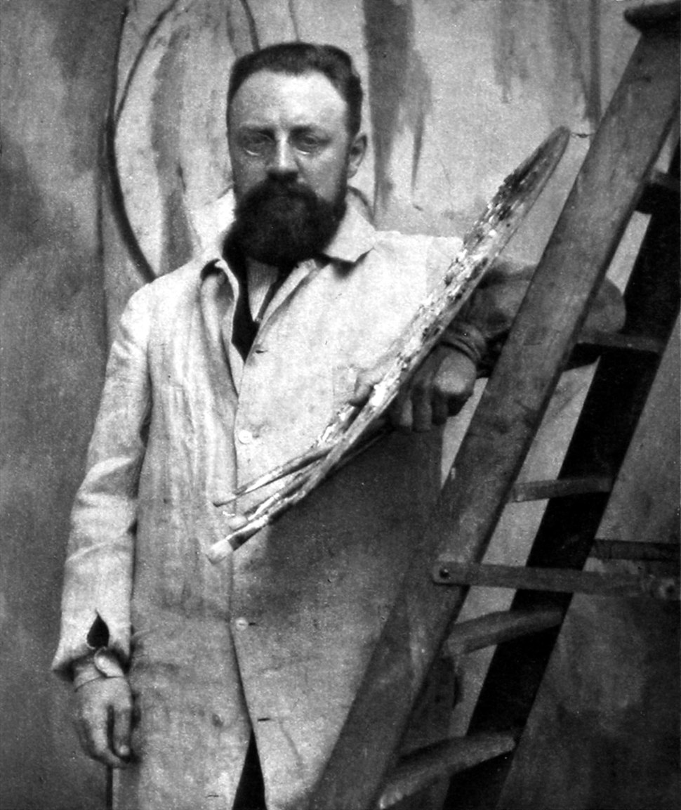Henri Matisse, 1913, photograph by Alvin Langdon Coburn