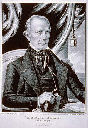 1844 Whig National Convention - Image: Henry Clay of Kentucky (Currier and Ives)