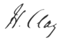 Henry Clay signature.png