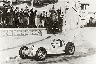 1937 Italian Grand Prix - Hermann Lang, Mercedes-Benz W125