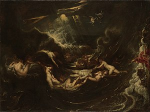 Hero and Leander (poem) - Hero and Leander by Peter Paul Rubens