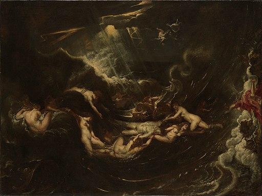 Hero and Leander by Peter Paul Rubens