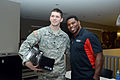Herschel Walker at Camp Withycombe, 2012 029 (8454301559) (6).jpg