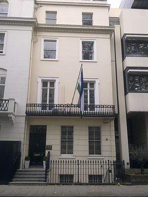 High Commission of Lesotho, London - Image: High Commission of Lesotho in London 1