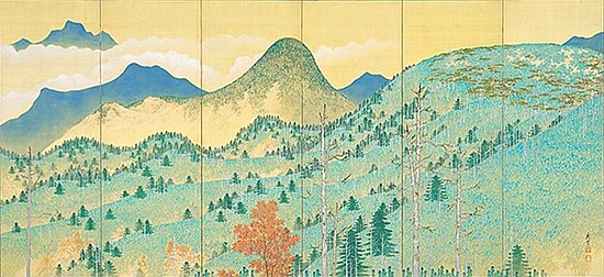 High Mountains Clear Autumn 1 by Terasaki Kogyo (Akita Museum of Modern Art).jpg