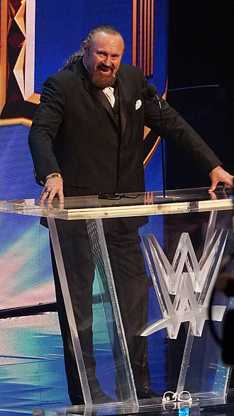 Hillbilly Jim - Hillbilly Jim being inducted into the WWE Hall of Fame in 2018