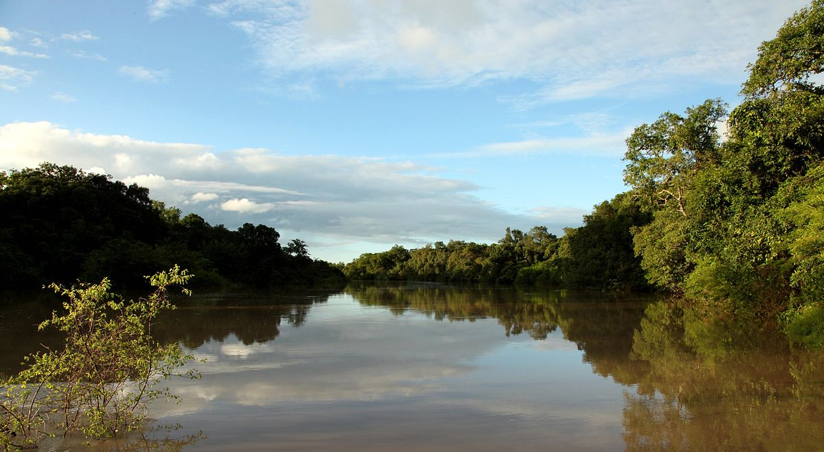 Hippo Lake (Oli River) in Kainji National Park