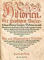Historien der Heyligen Auserwählten Gottes Zeugen Bekenner und Märtyrer (1557).jpg