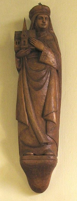 Statue of St. Hedwig, St.