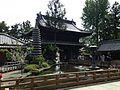 Hojochi Pond and Sammon Gate of Ryozenji Temple.jpg