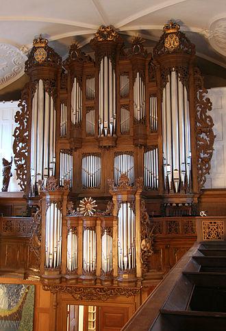 Church of Holmen - Image: Holmens Kirke Copenhagen organ 2
