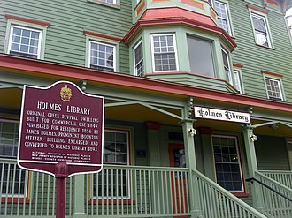 Boonton, New Jersey - The Holmes Library in Boonton