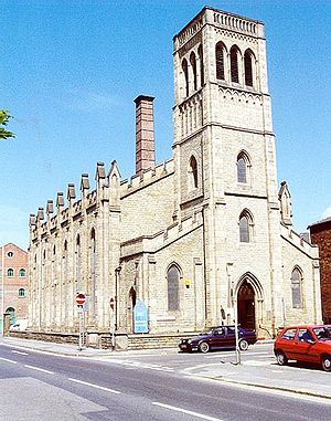 Flockton (architects) - Holy Trinity Church, Nursery Street. By Flockton, Lee and Flockton; 1848.