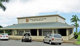 Honokaa, Hawaii - Post office for ZIP code 96727