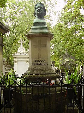 English: Tomb of Honoré de Balzac