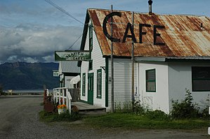 Hope, Alaska - Hope, a former gold-mining town, is now a popular weekend retreat for Anchorage residents.