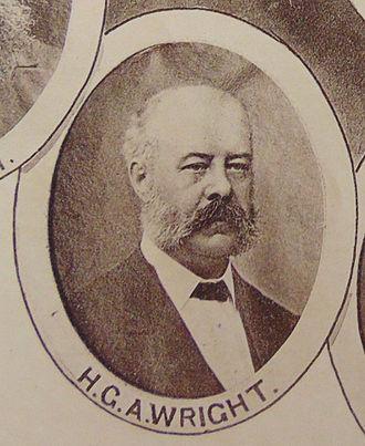 Horatio George Anthony Wright - Image: Horatio George Anthony Wright