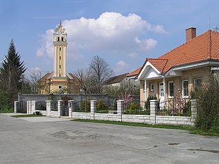 Horná Streda Village in Slovakia