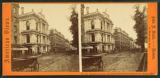 Tremont Street - Image: Horticultural and studio buildings, Tremont St., Boston, Mass, by Soule, John P., 1827 1904 4