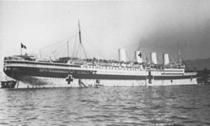 SS France (1910) - France as a hospital ship