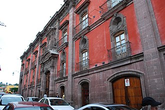 San Miguel de Allende - The House of the Counts of the Canal, built in the 18th century and currently owned by Banamex.