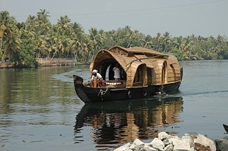 Kottayam district - House boat in Kumarakam