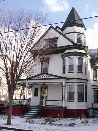 Fairmount, Newark, New Jersey - A well-maintained Victorian House in Fairmount
