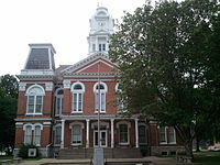 Howard County Courthouse Missouri 7-16-2011.jpg