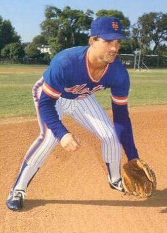 Howard Johnson (baseball) - Johnson in 1986