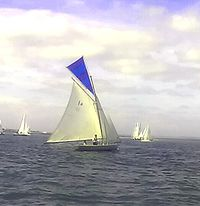 Photo of Howth 17 one design keelboat